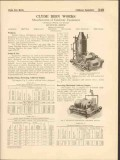 Clyde Iron Works Inc 1916 Vintage Catalog Cableway Equipment Engine