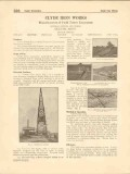 Clyde Iron Works Inc 1916 Vintage Catalog Field Tower Excavators