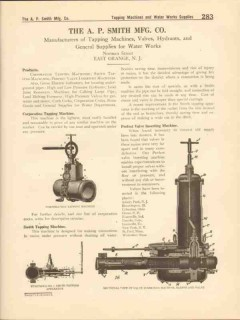 A P Smith Mfg Company 1916 Vintage Catalog Corporation Tapping Machine