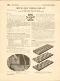 Irving Iron Works Company 1916 Vintage Catalog Flooring Subway Grating