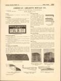American Abrasive Metals Company 1916 Vintage Catalog Safe Stair Tread