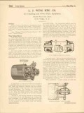 L J Wing Mfg Company 1916 Vintage Catalog Turbine Blowers Regulators
