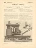 Link-Belt Company 1916 Vintage Catalog Locomotive Cranes Conveying
