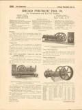 Chicago Pneumatic Tool Company 1916 Vintage Catalog Air Compressors