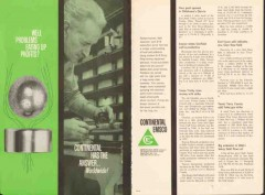 Continental-Emsco Company 1962 Vintage Ad Oil Well Problems Profits