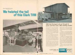 Clark Brothers Company 1962 Vintage Ad Gulf Oil Fannett TX TVM Twisted
