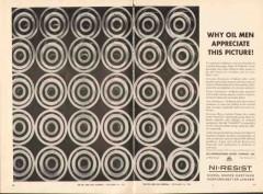 International Nickel Company 1962 Vintage Ad Oil Men Appreciate