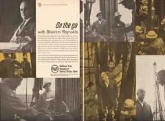 United States Steel 1962 Vintage Ad Oil Sheldon Reynolds National Tube