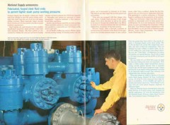Armco Steel Corp 1962 Vintage Ad Oil Fabricated Forged Fluid Cylinders