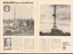United States Steel 1962 Vintage Ad Oil Well Supply Dad Joiner Driller