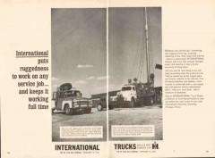 international harvester company 1962 ruggedness trucks vintage ad