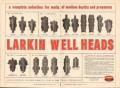 Larkin Packer Company 1962 Vintage Ad Oil Well Heads Depth Pressure