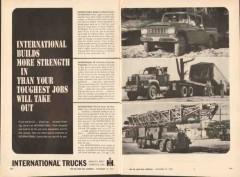 international harvester company 1962 strength tough trucks vintage ad