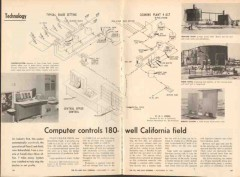 computer controls 1962 180 oil well california field vintage article