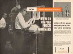 ACF Industries 1962 Vintage Ad Oil W-K-M Computer Predicts Performance