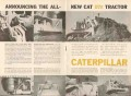 caterpillar tractor company 1962 new cat d7e tractor vintage ad