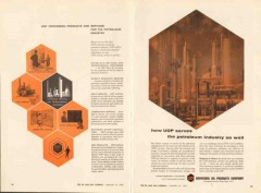 Universal Oil Products Company 1962 Vintage Ad Services Industry