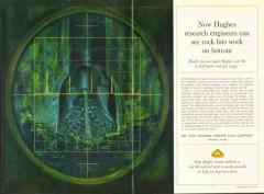 Hughes Tool Company 1962 Vintage Ad Oil Field Rock Bit Engineer Bottom