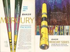 Baker Oil Tools Inc 1962 Vintage Ad Mercury Retainer Production Packer
