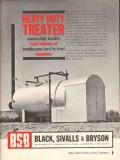 Black Sivalls Bryson Inc 1962 Vintage Ad Heavy Duty Treater Emulsions
