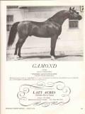 lazy acres arabian horse farm 1972 gamond aramus dalul stud vintage ad