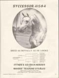 ittners arabian horses 1972 syccessor bred royally looks vintage ad