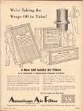 American Air Filter Company 1953 Vintage Ad Tulsa International Expo