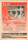 Philadelphia Gear Works 1953 Vintage Ad Oil Field Valve Control Facts