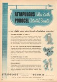 Attapulgus Minerals Chemicals Corp 1953 Vintage Ad Porocel Processing