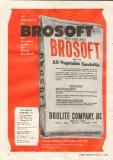 brolite company 1959 brosoft all-vegetable emulsifier flour vintage ad