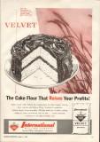 international milling company 1959 cake flour raises profit vintage ad