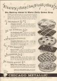 chicago metallic mfg company 1959 foil day baking ideas vintage ad