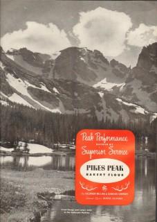 colorado milling elevator company 1959 longs lake baking vintage ad