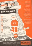 american maize products company 1958 amaizo 721a stabilizer vintage ad
