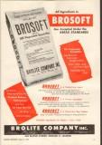 brolite company 1958 brosoft emulsifier bread standards vintage ad
