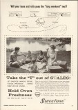 a e staley mfg company 1959 buns rolls long weekend baking vintage ad
