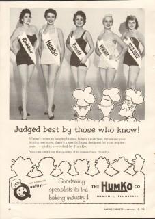 humko company 1958 judged richtex kopald gold bond baking vintage ad