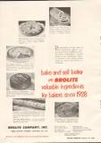 brolite company 1958 valuable ingredients bake sell better vintage ad