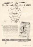 commander-larabee milling company 1958 cream loaf flour vintage ad