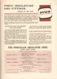 Porcelain Insulator Corp 1942 Vintage Catalog Pinco Suspension Switch