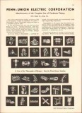 Penn-Union Electric Corp 1942 Vintage Catalog Conductor Fittings Lugs