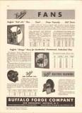 Buffalo Forge Company 1942 Vintage Catalog Fans Belt Drive Breeze Air