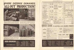 Allis-Chalmers 1942 Vintage Catalog Electrical Motors Production