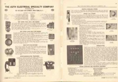 Auth Electrical Specialty Company 1943 Vintage Catalog Bells Buzzers