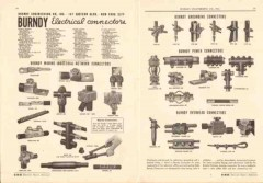 Burndy Engineering Company 1943 Vintage Catalog Connector Ground Power