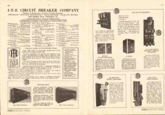 I-T-E Circuit Breaker Company 1943 Vintage Catalog Electrical Switches