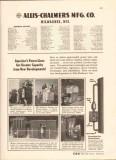 Allis-Chalmers Mfg Company 1943 Vintage Catalog Power Line Transformer