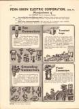 Penn-Union Electric Corp 1943 Vintage Catalog Power Ground Connectors