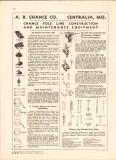 A B Chance Company 1943 Vintage Catalog Electric Pole Line Maintenance