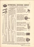 International Resistance Company 1943 Vintage Catalog Volume Controls
